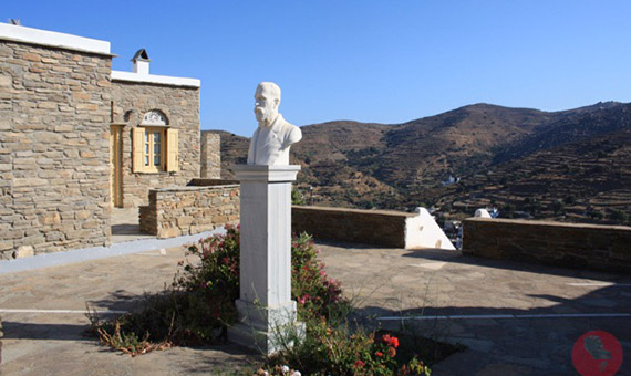 marble art in Tinos